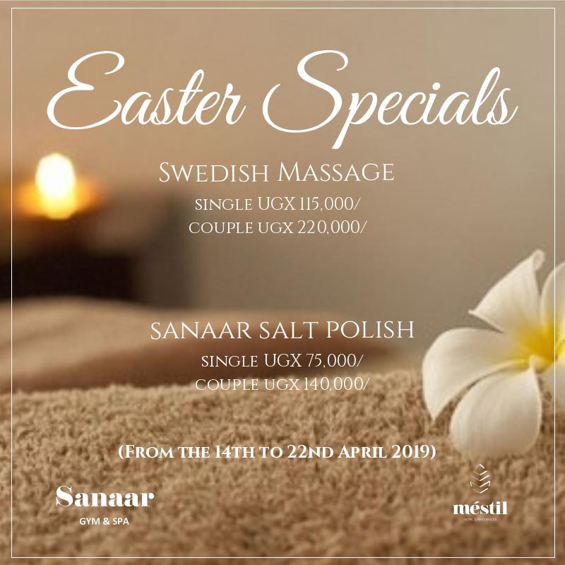 Swedish massage special offer