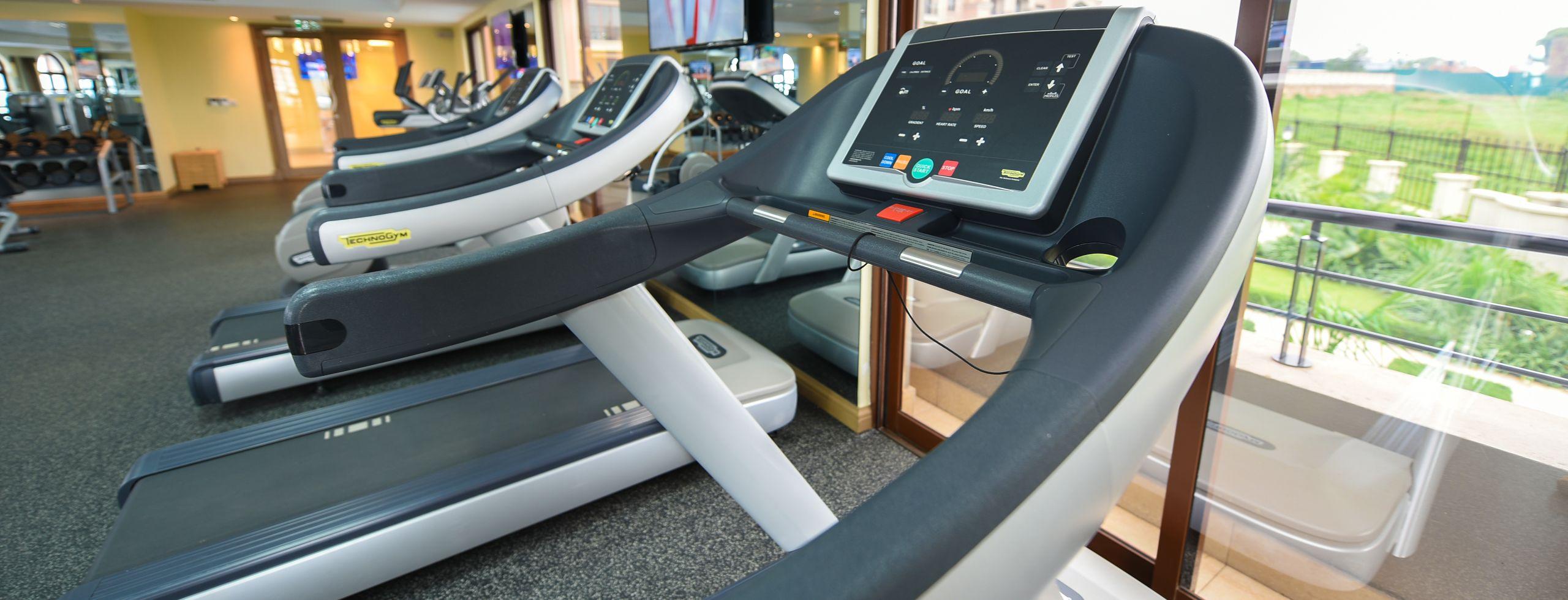 Services Gym 3 running