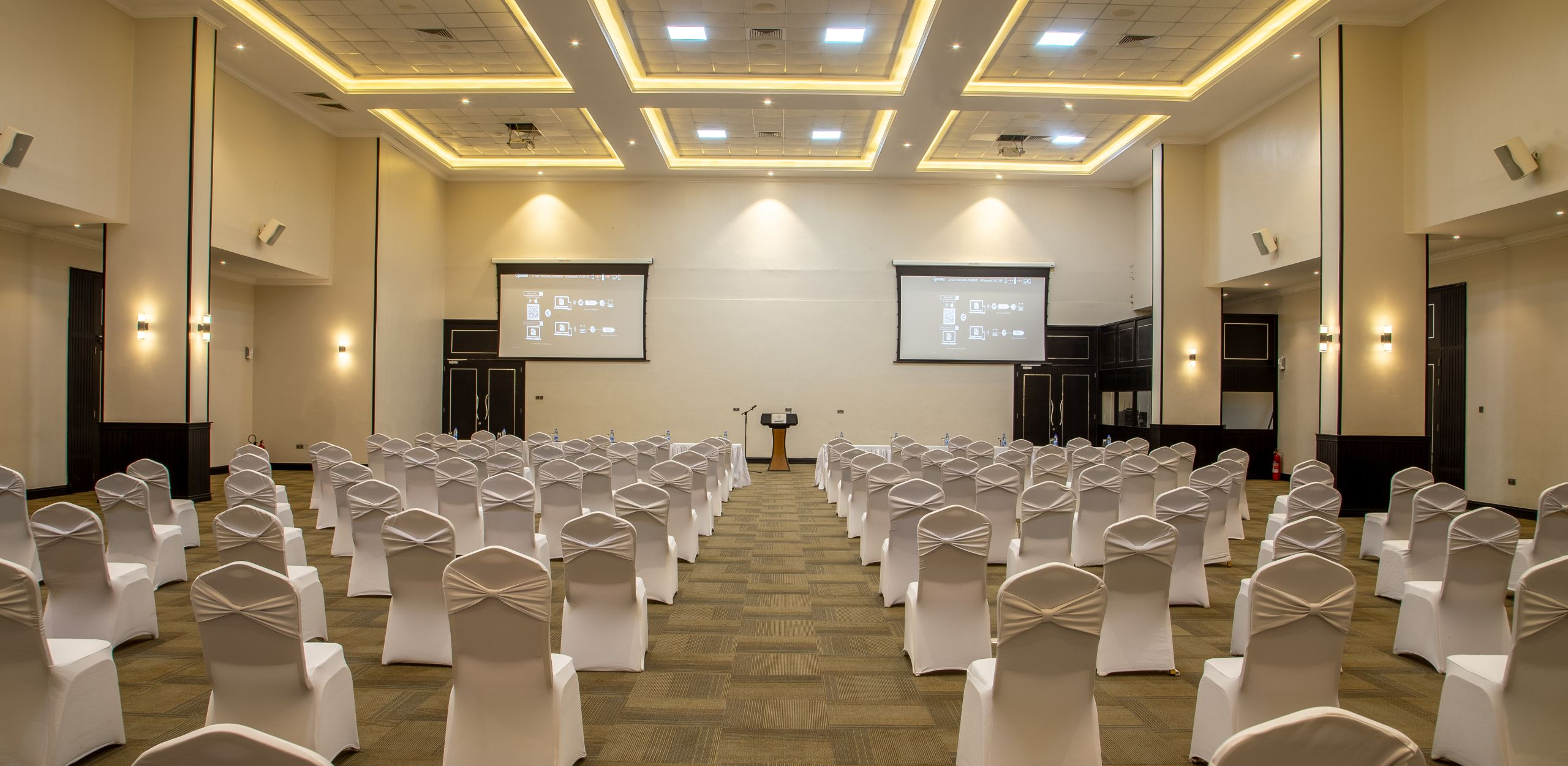 Homepage 2: Event room