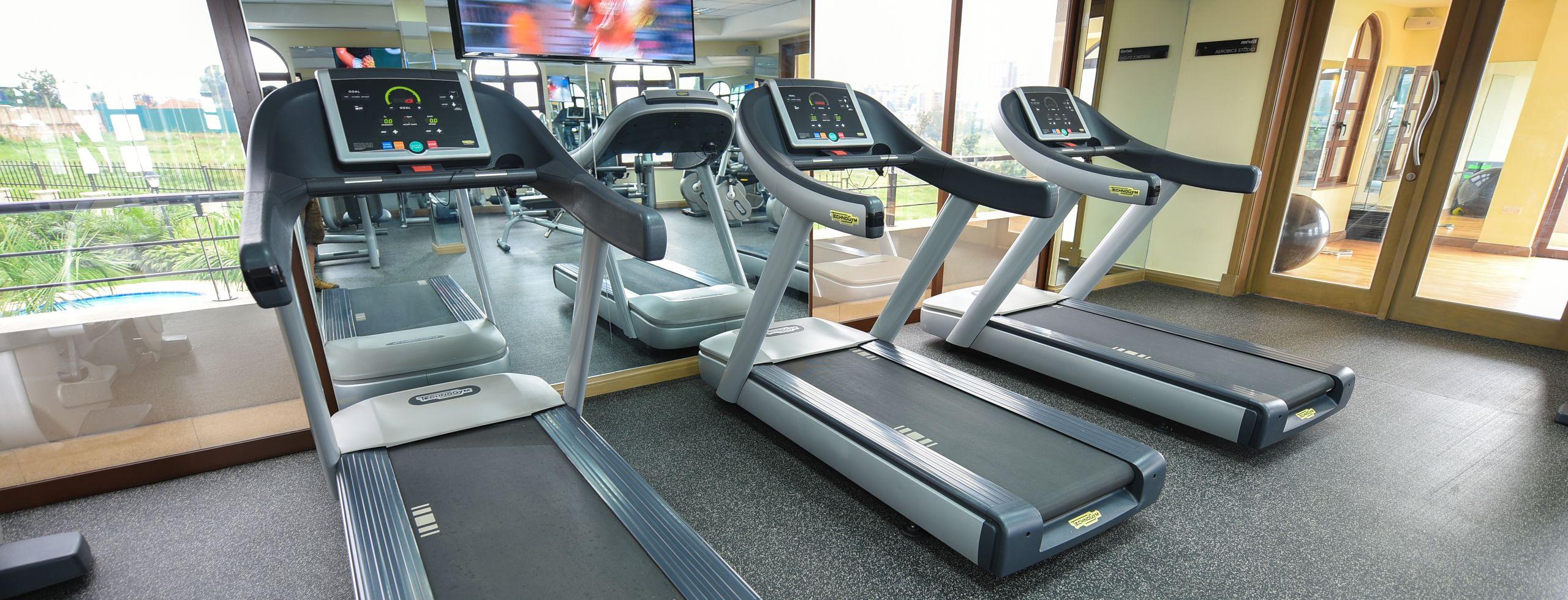 Services Gym 2 running